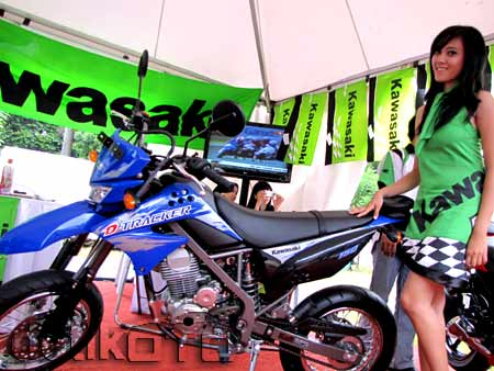 Kawasaki D-Tracker 150 menurut ane  911022f600