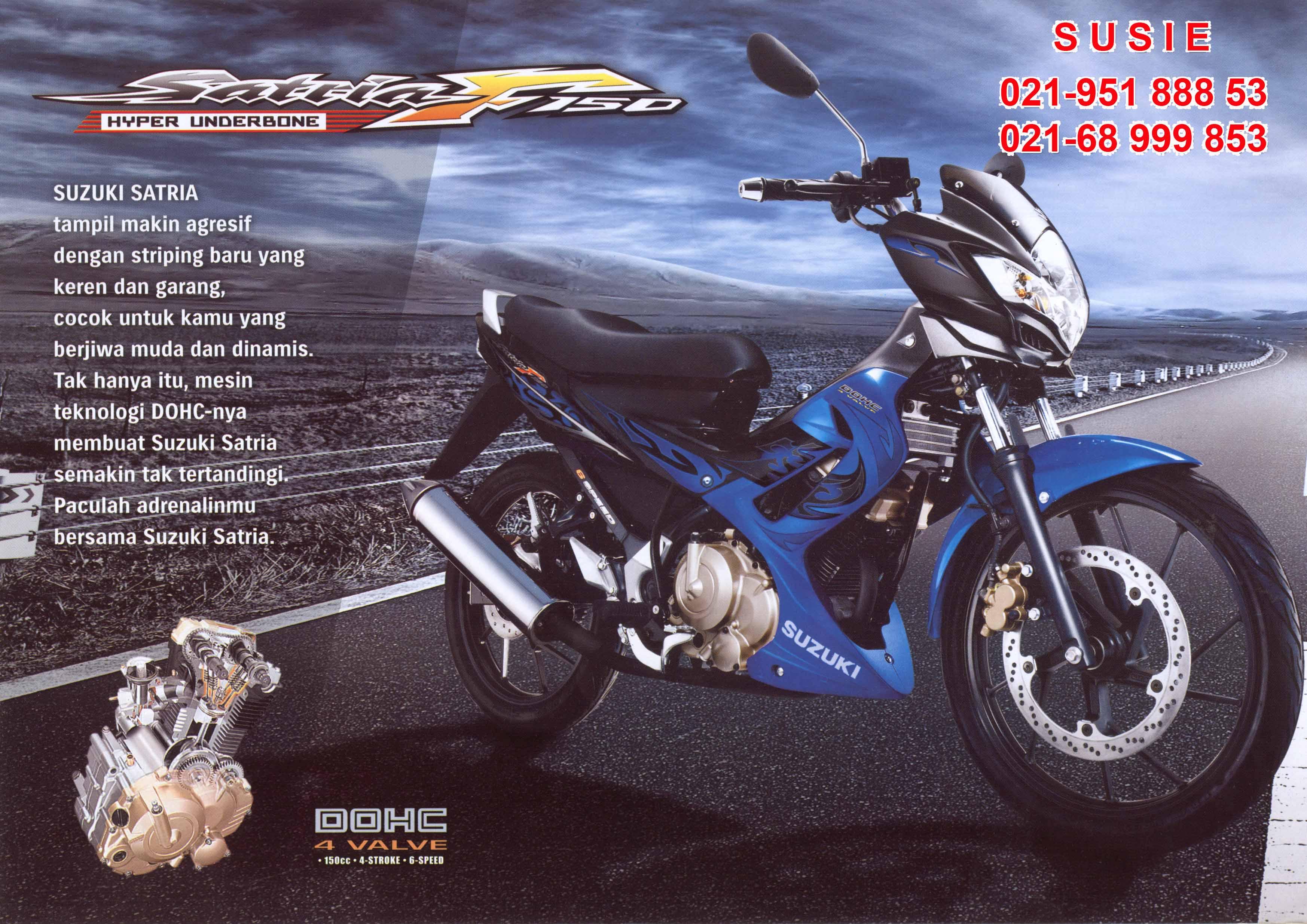 New Suzuki Satria Fu 150