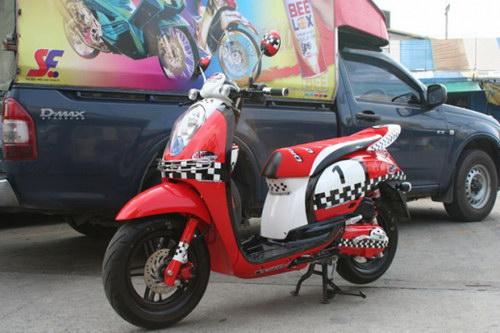Modifikasi Honda Scoopy Yg Keren2 Asmarantaka S Personal Blog