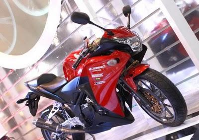 modif new CBR 250 yg di pajang di Thailand Motorcycle Show 2011…yuk
