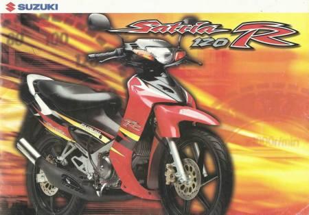 Satria Ru 120  Suzuki satria RU Vs Fu  Tarung sesama Sodara