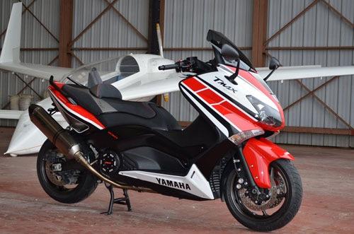 Detailed Yamaha TMax Limited Edition Spesial 50th anniversary Yamaha